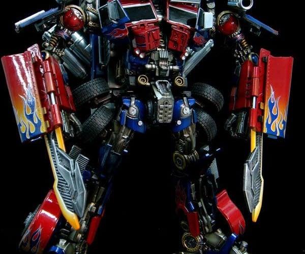 Optimized Prime: Customized Revenge of the Fallen Optimus Prime Toy on Ebay