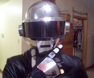 Guy Builds Daft Punk Helmet for His Kid Brother, Making Every Kid on the Face of the Earth Jealous