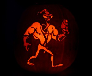 earthworm jim pumpkin 300x250