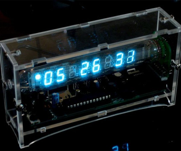 Ice Tube Vfd Clock Kit: Time to Get Retro