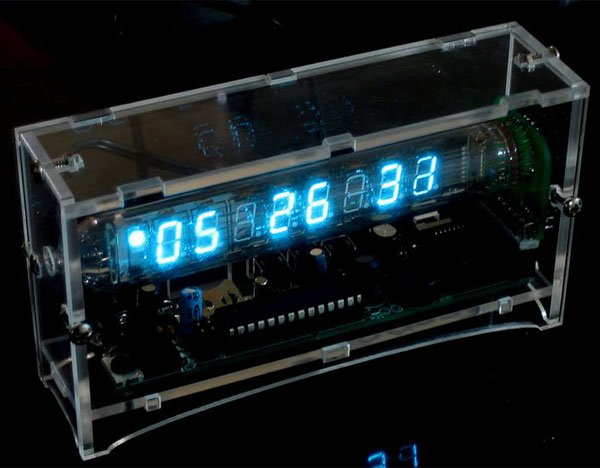 ice tube vfd clock