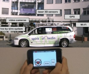 Toys for Big Boys: iPhone Remote Controls Honda Civic, Blackberry Remote Controls F1 Car
