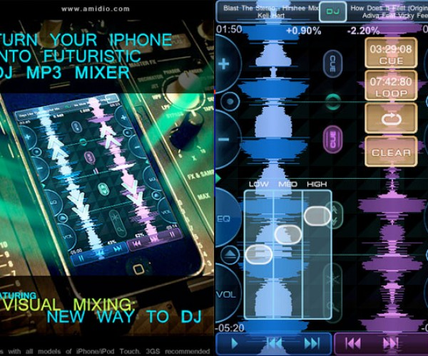 Touch Dj Puts a Complete Dj Mixer in Your iPhone or iPod Touch