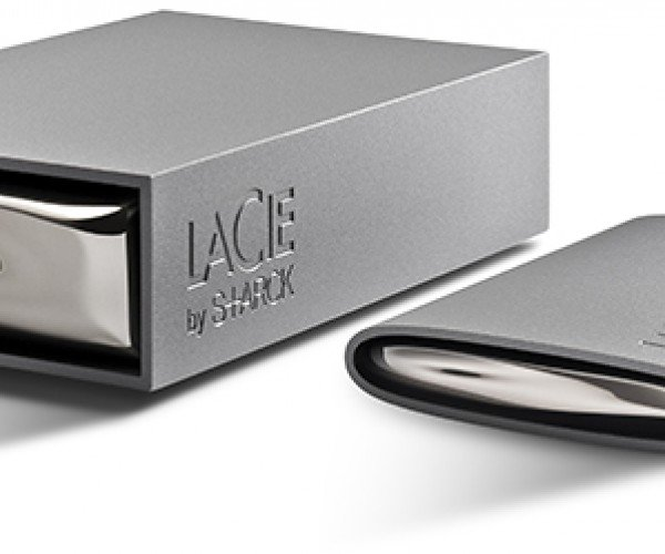Lacie Starck External Hard Drives: Products of a Love Affair. No Seriously.