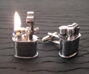 Boy You Lookin' Hot: Mini Lighter Cufflinks