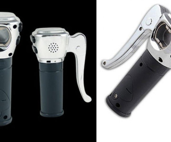 Have One for the Road With the Motorcycle Grip Bottle Opener