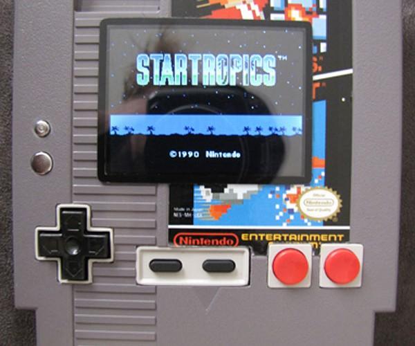 Playable NES Console Built Into an NES Cartridge [Casemod]