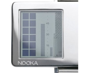 Nooka Zaz LCD Watch has See-Through Face, Goofy Name