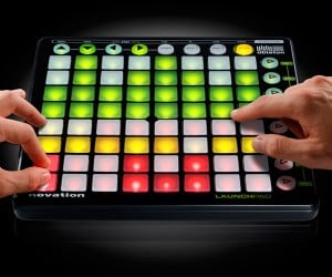 Ableton Novation Launchpad Controls Music With Lots of Lights and Buttons