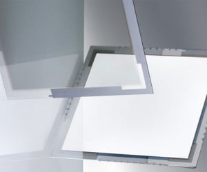 osram transparent oled panel 300x250