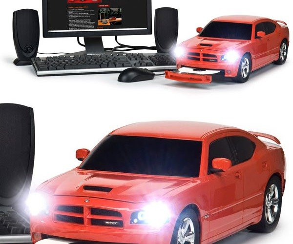 Pcrides Dodge Charger Srt8 Desktop Pc Rolls Onto the Streets – Some Day