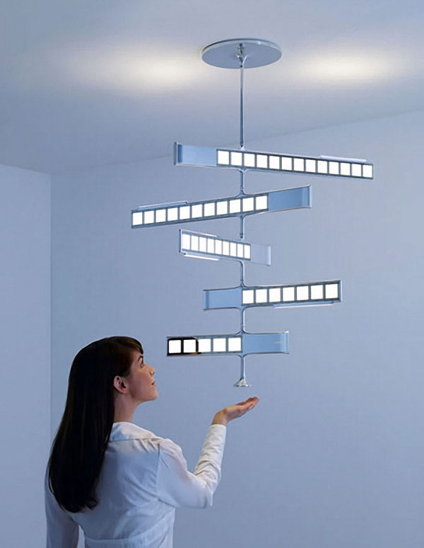philips oled chandelier lighting
