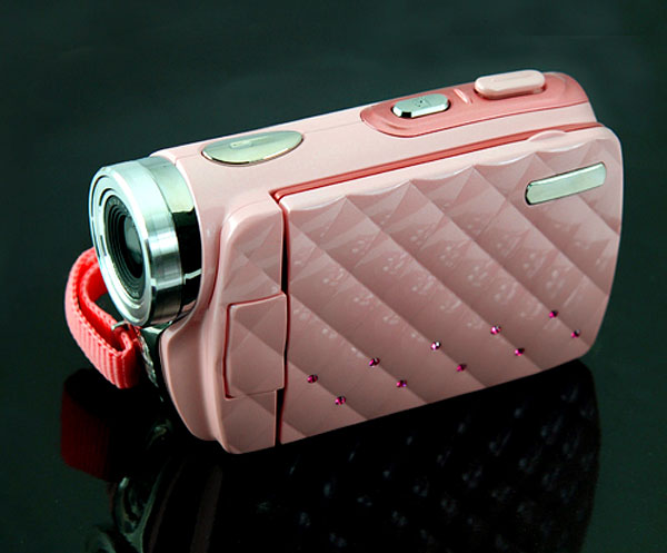 pink hd camcorder