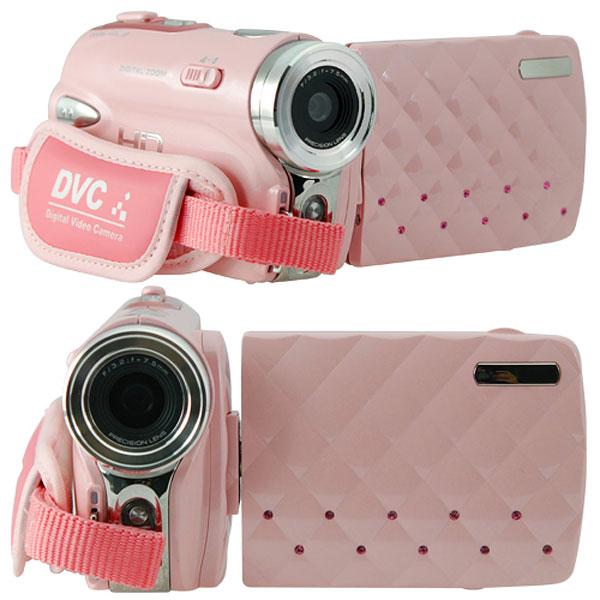 pink hd digital video camera
