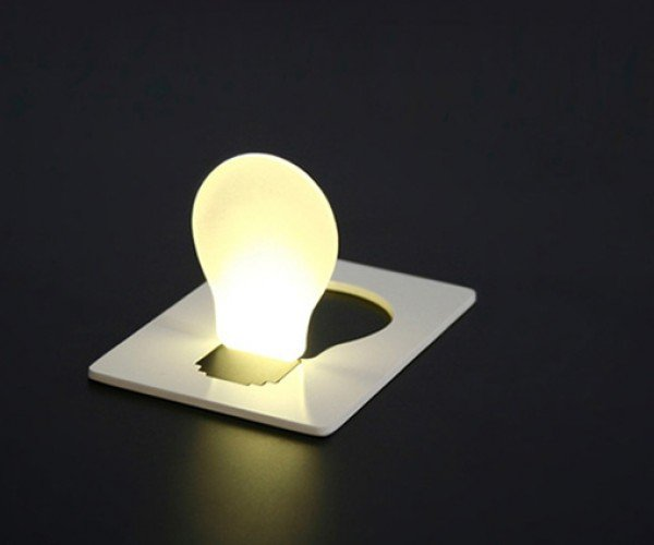 Pocket Light Portable Folding Light Bulb is a Really Bright Idea