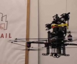 Quad-Rotor Autonomous Helicopter Eschews Gps in Favor of Lasers. Laz0rz!
