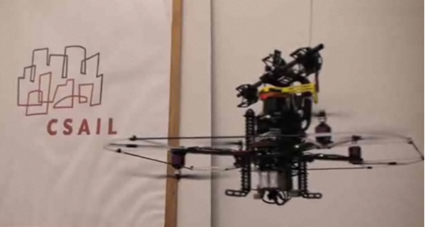 quad copter MAV for indoor autonomous flight