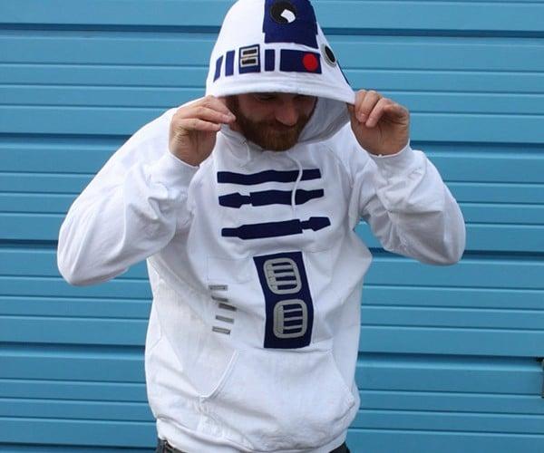 R2-D2 Hoodie is Bleepin' Awesome