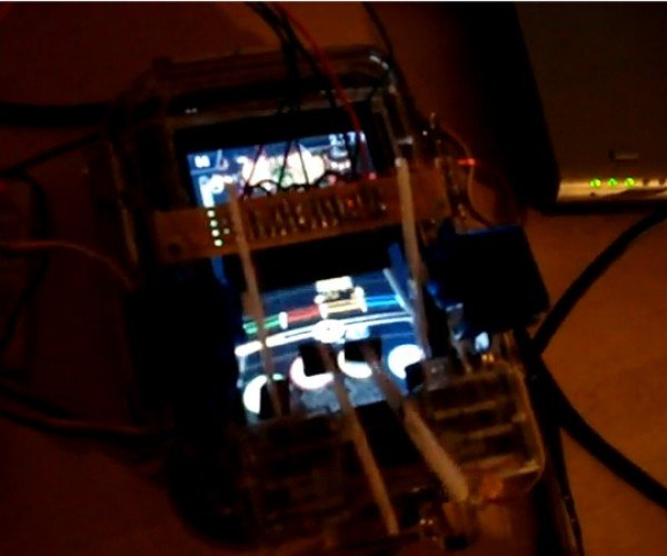 Robot Plays Rockband on the iPhone, Drowns Music Out With Its Squeaky Fingers