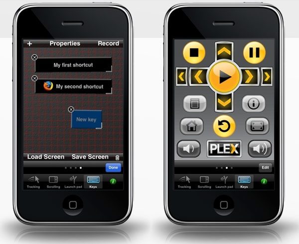 snatch custom remote iphone