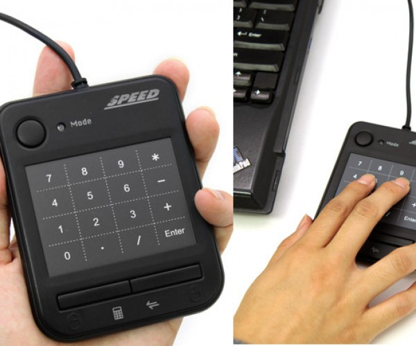 Speed USB Smart Pad Supports Multitouch Gestures: Let Your Fingers Do the Zoomin' and Navigatin'