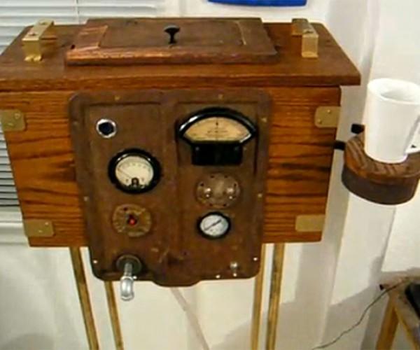 Taking Steampunk Hilariously Far: the Steampunk Urinal