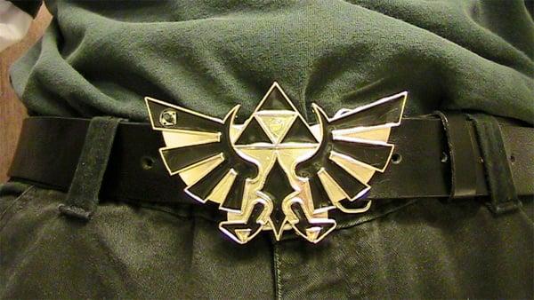 zelda belt buckle mod