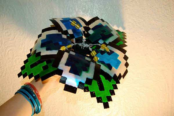 8 bit wedding bouquet