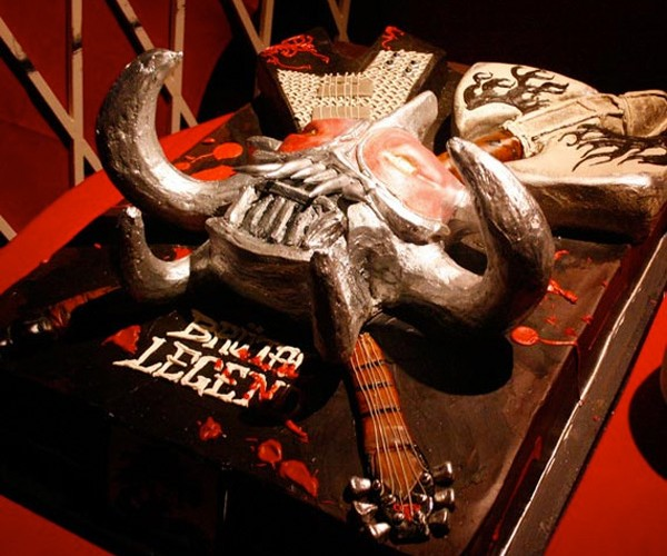Yes, a Brutal Legend Cake (Already)