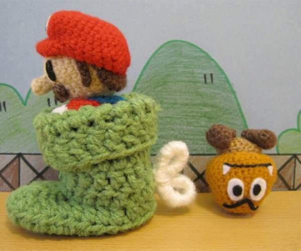 The Amigurumi Mario Playset