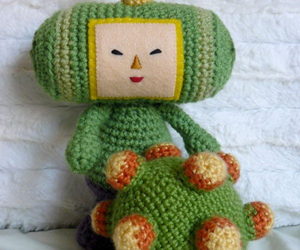 Amigurumi Prince Ready to Roll Up All the Yarn