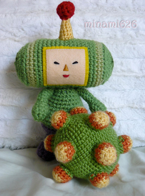 Amigurumi Yarn : Amigurumi Prince Ready to Roll Up All the Yarn - Technabob