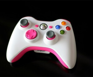Pinkified Xbox 360 Controller