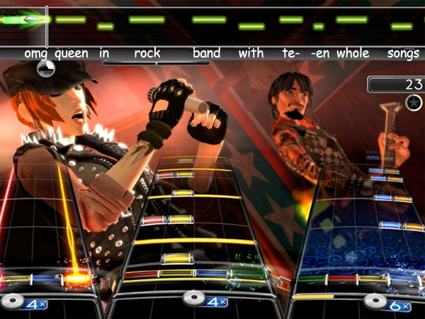 rock band dlc queen