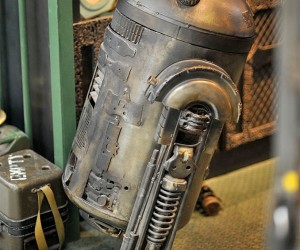 Star Wars by Gaslight: R2-D2 Goes Steampunk