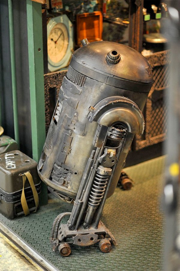 star wars steampunk r2-d2