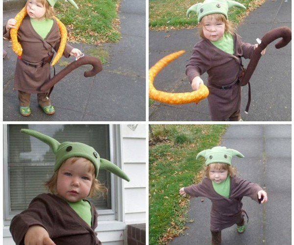 Baby Yoda Costume is a Tricky Treat [Star Wars]