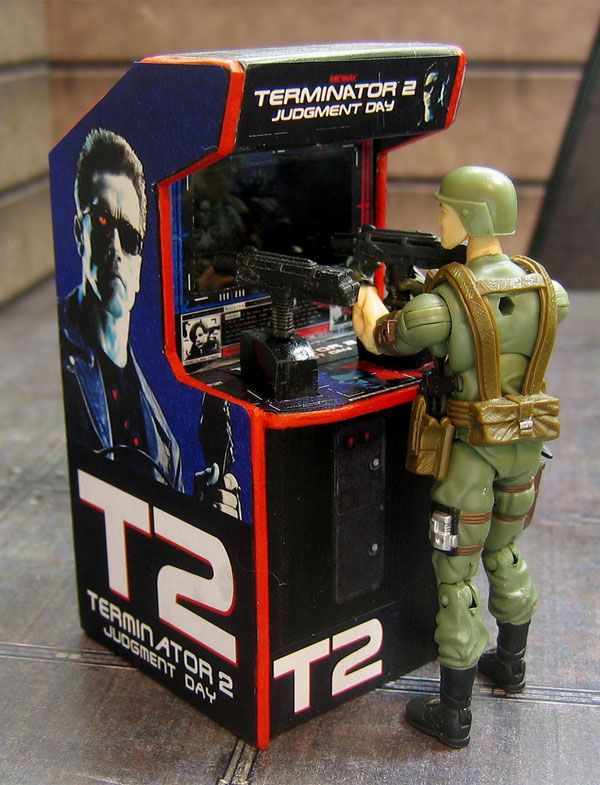 More Arcade Game Cabs Get Miniaturized