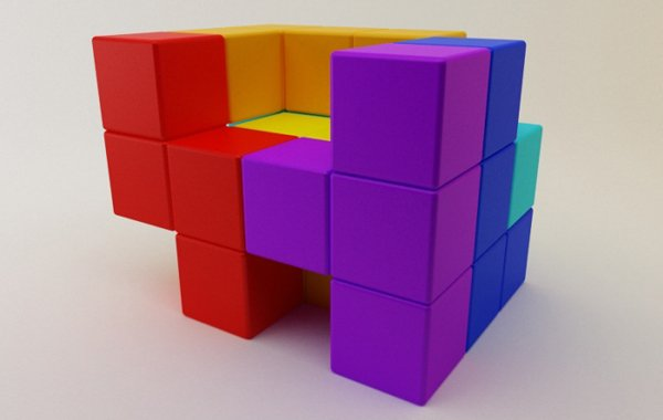 Gabriel's 'Tetris Chair'