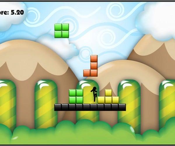 Tetris'D Turns Tetris Into a Platformer