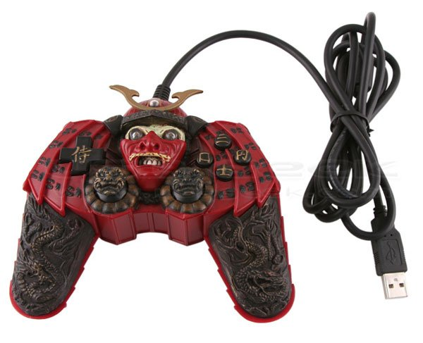 Samurai Warrior Joystick Won T Win Any Prizes For Ergonomics
