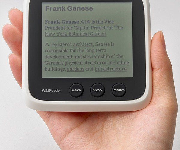 Wikireader: the World'S Most Semi-Trusted Encyclopedia at Your Fingertips