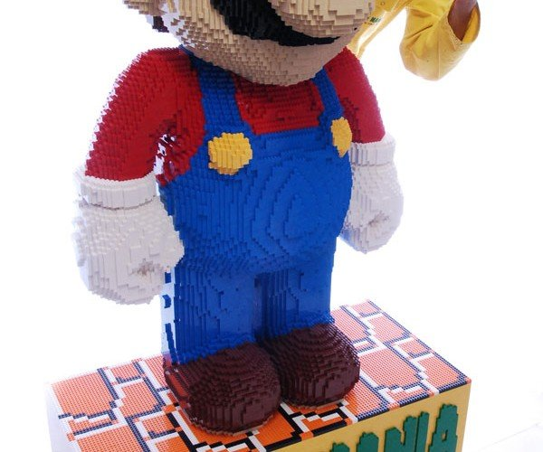 World's Largest LEGO Mario Up for Auction: Its'a Huge