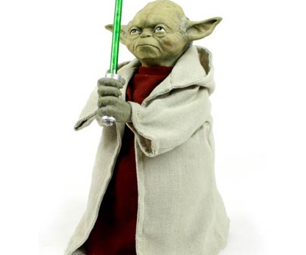 Yoda Light-Up Tree Topper: This, Your Christmas Tree Must have