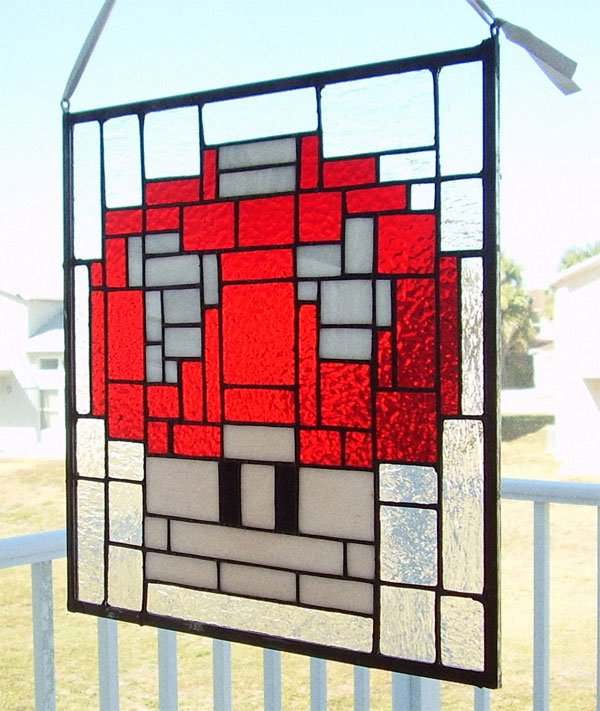 1_up_mushroom_stained_glass