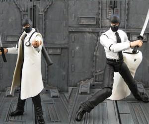Jin Saotome, Action Figure Customizer Extraordinaire