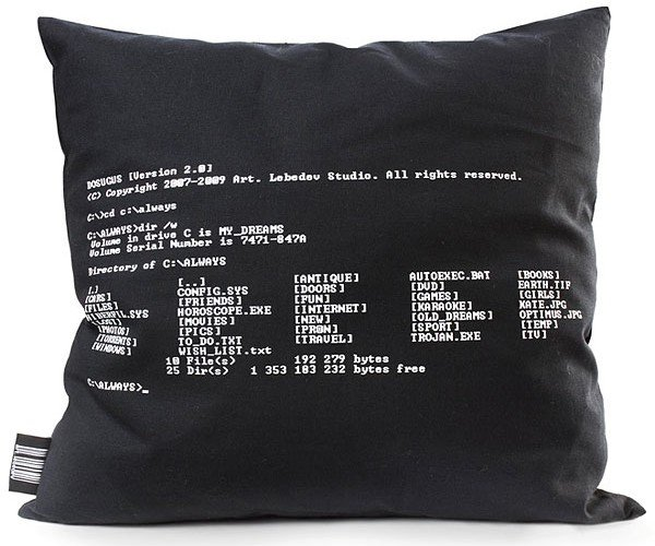 Dos 2.0 Pillow by Art Lebedev Gets an Upgrade