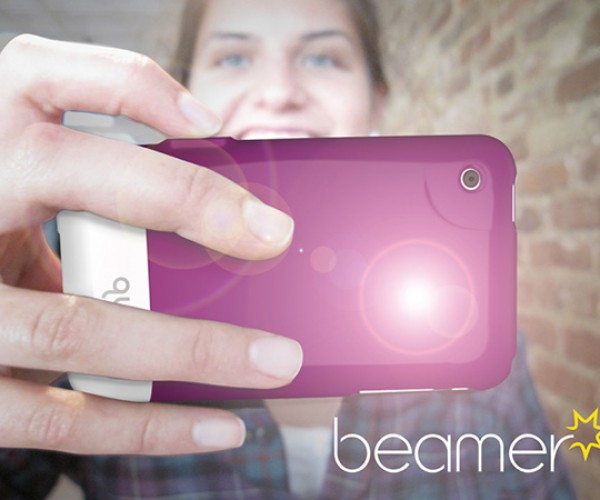 Beamer iPhone Flash Case Helps You See and Shoot