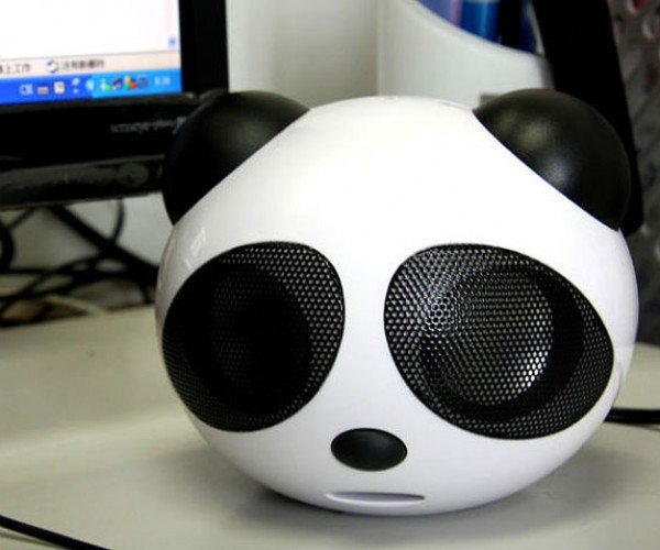 USB Big Panda Speaker: Truth in Advertising