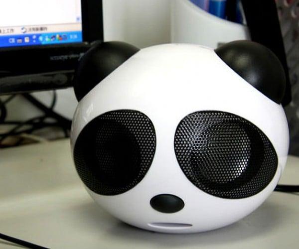 USB Big Panda Speaker: Truth in Advertising